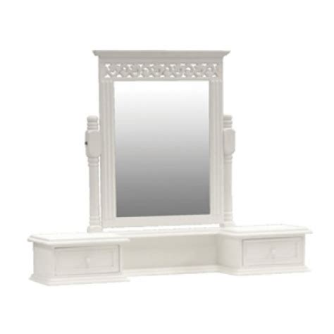 Mirror Dressing Table With Drawers by Finewood Studios Furniture Ltd Snowdrop Dressing