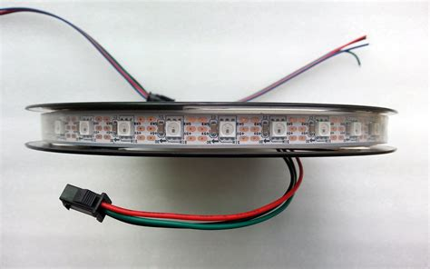 Led With 1903 Ic Ip67 5050 Progamable 16 4ft programmable 60ics m 5v ws2811 ic rgb 5050 led light