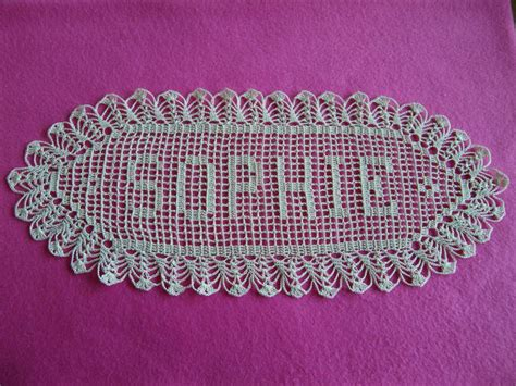 pattern for crochet name doilies 17 best images about crotched doily s on pinterest filet