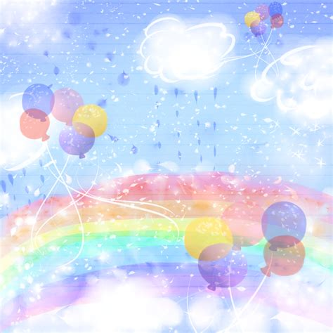super colorful super sparkly colorful rainbow sky background by rainbowicepop on deviantart