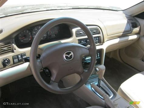 beige interior 2000 mazda 626 lx v6 photo 49116610