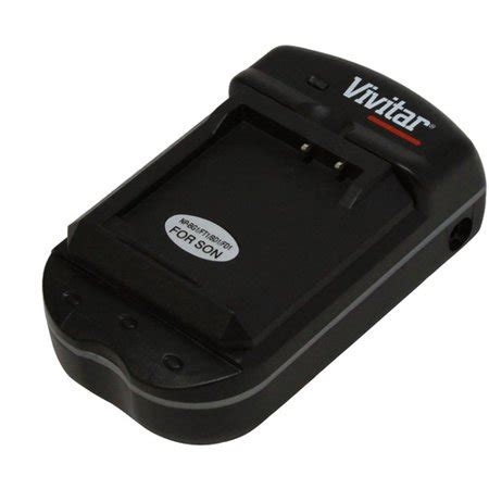 vivitar universal battery charger for sony batteries sajs9ud
