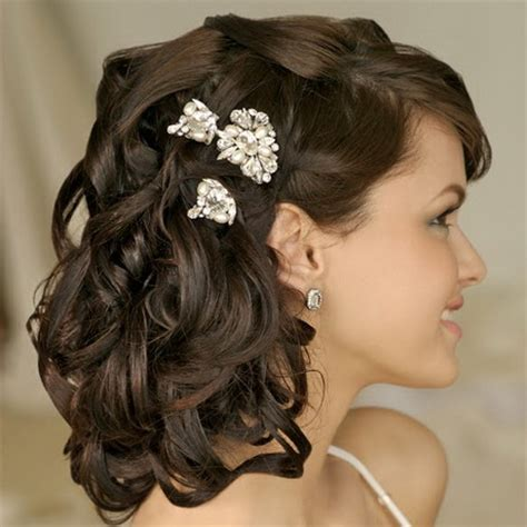 hairstyles for hair down to your shoulders bridal hairstyles medium length hair