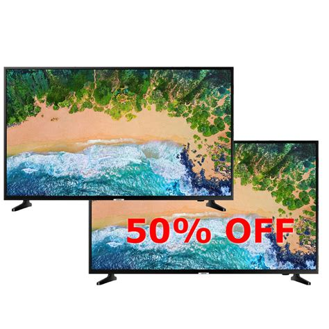 samsung 43 quot nu6900 smart 4k tv bogo 50