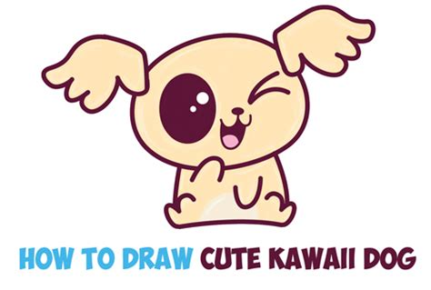 how to draw a puppy easy how to draw a kawaii archives how to draw step by step drawing tutorials