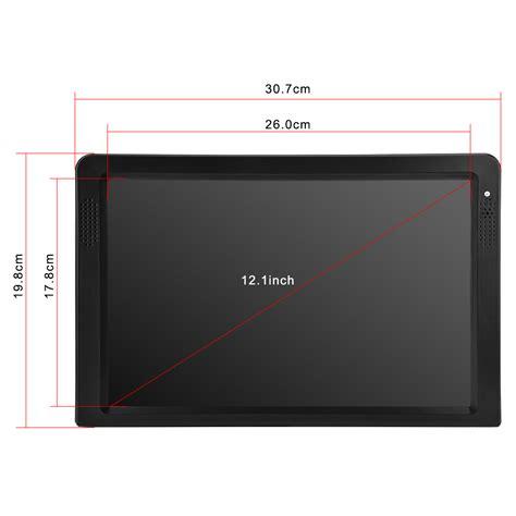 Tv Mobil 10 Inchi 12 Quot Portable Tv Player Digital Tft Lcd Dvb T T2 1500mah Television Rechargable Ebay