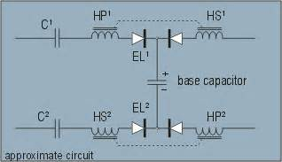 energy absorbed by capacitor electrets vs dielectric absorbers