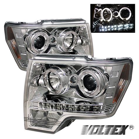 Halo Light Bar by 2009 2012 Ford F150 Halo Led Projector Headlights Lightbar