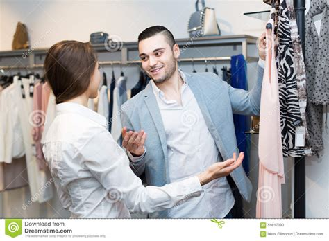 Couples Clothing Store In Clothing Store Stock Photo Image 59817390