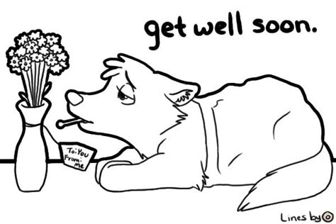 get well soon nana coloring pages get well cards to color view topic get well soon chicken