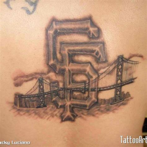 tattoo sf sf giants sports sports ink