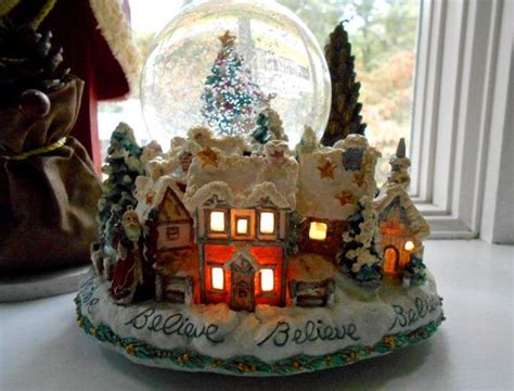 rotating train snow globe vintage san francisco box company snow globe by gallery122 quot home decor vintage quot by