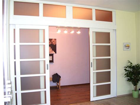 Sliding Doors Systems Interior White Sliding Interior Doors