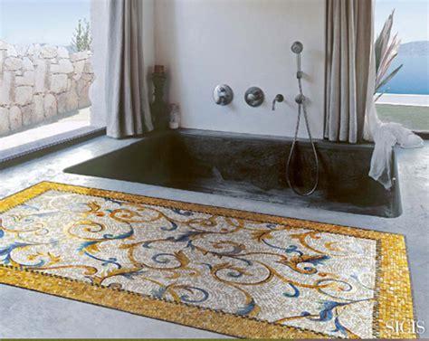 fliesen teppich mosaik fliesen teppiche kreative einrichtungsideen sicis