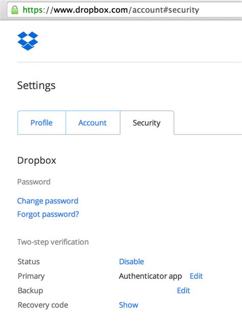 dropbox number how to secure your dropbox account