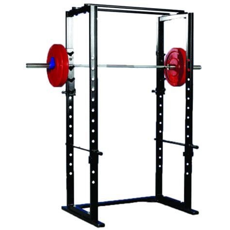 Pro Squat Rack by Pro Maxima Basic Power Rack Cage Winston Fitness