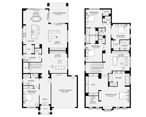 metricon home floor plans bordeaux 50 unit floor plans multi dwelling house plans