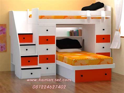 Kasur Tingkat Untuk Anak tempat tidur tingkat modern anak perempuan kembar kamar