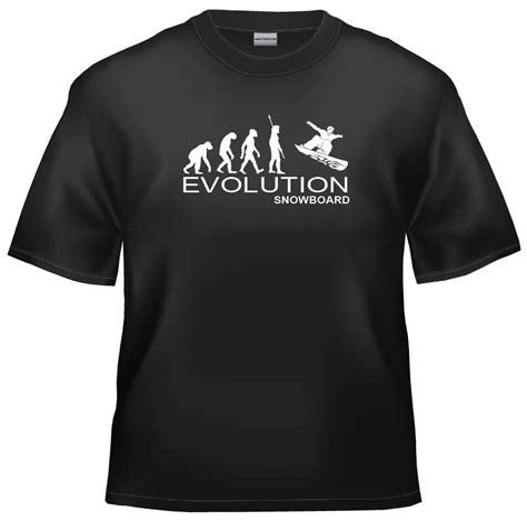 Tshirt Evolution Snowboarding evolution snowboard t shirt