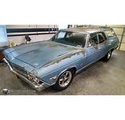 Photo Of A 1968 Chevrolet Chevelle Station Wagon Blue Raven