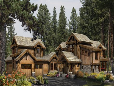 log cabin with wrap around porch log cabin home plans