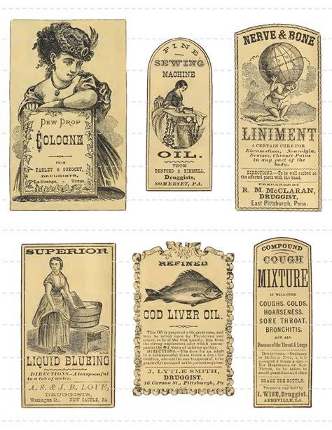printable vintage labels for jars antique apothecary labels digital download vintage