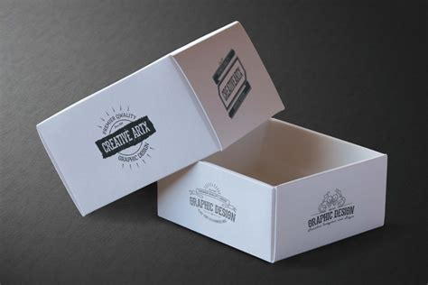 Card Box Template Psd by Amazing Gold Card N Card Box Mockup Eymockup