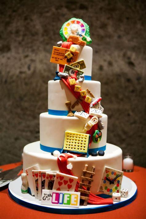 Hochzeitstorte Gamer by Board Wedding Cake
