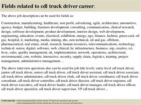 top 10 cdl truck driver questions and answers