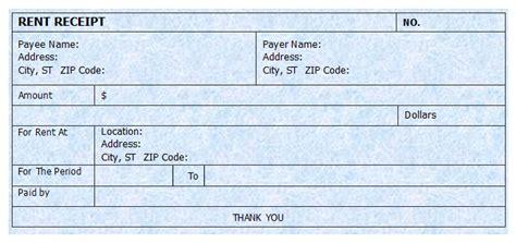 rent receipt template microsoft word templates