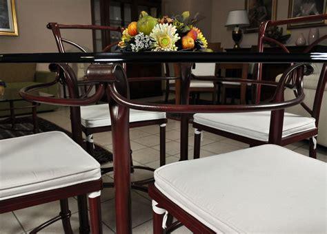 tavolo ferro battuto e vetro tavolo in vetro e 4 sedie in ferro battuto in saldo a