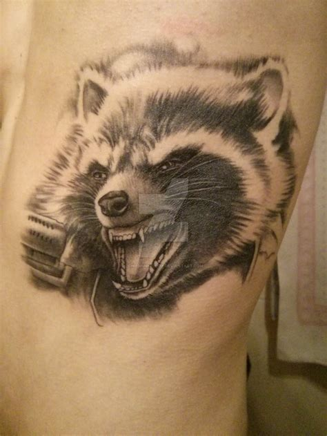 racoon tattoo 45 best raccoon tattoos