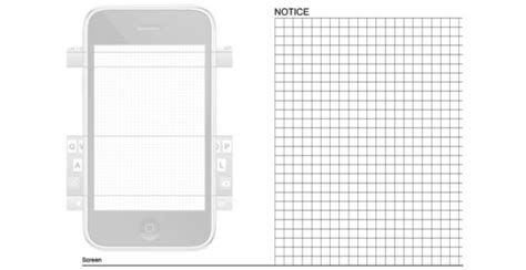 iphone design template 20 free printable sketching and wireframing templates