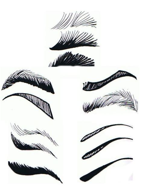 Sketches Eyebrows by Best 25 How To Draw Mouths Ideas On How To