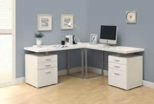 Small Desk For Home Office Home Office Outstanding White L Shaped Home Office Desks Which Has Small Desk L In The Corner