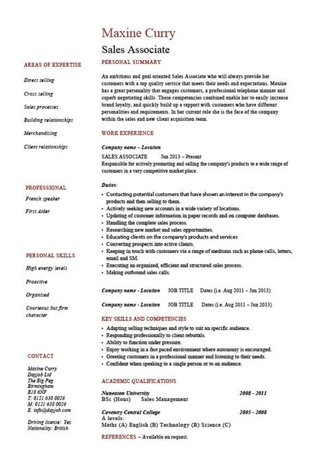 unforgettable salesperson resume examples to stand out myperfectresume