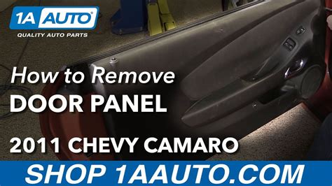 how to remove reinstall front door panel 2011 chevy camaro youtube