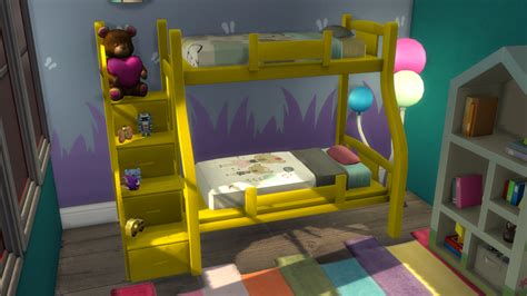 4 bed bunk beds enure sims bunk bed for toddlers