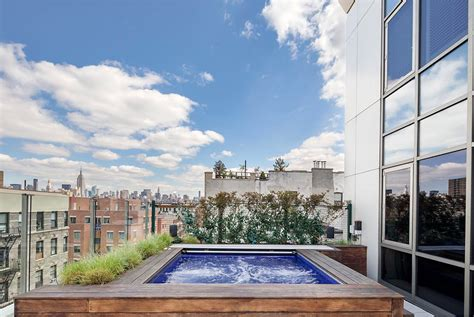 gorgeous two story penthouse on the lower east side in