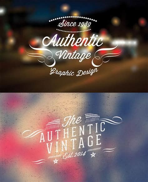 retro logo template psd 38 free photoshop logo templates psd designscrazed