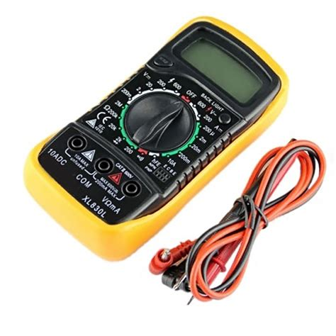 Multimeter Manual digital vc17b multimeter auto manual ac dc large lcd