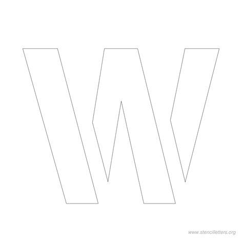 w 3 template 3 inch stencil letters stencil letters org