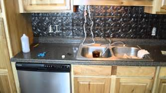 Plastic Kitchen Backsplash by Installing A Plastic Backsplash Youtube