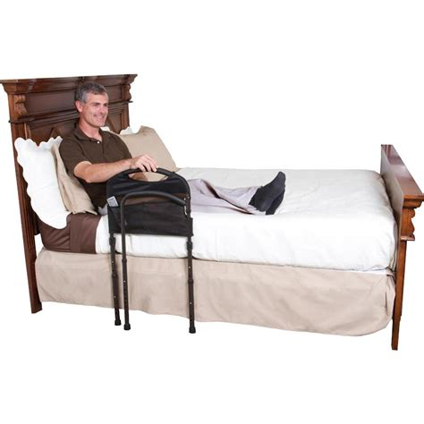 bed mobility standers mobility bed rail with legs and swing out arm