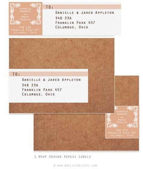 Diy Wrap Around Address Labels