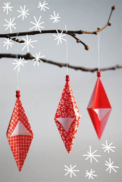 How To Make Origami Ornaments - origami ornaments