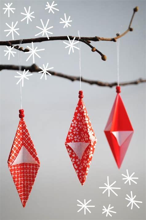 Paper Origami Ornaments - origami ornaments