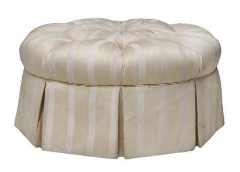 buttoned ottoman large white striped beige buttoned ottoman magnificent