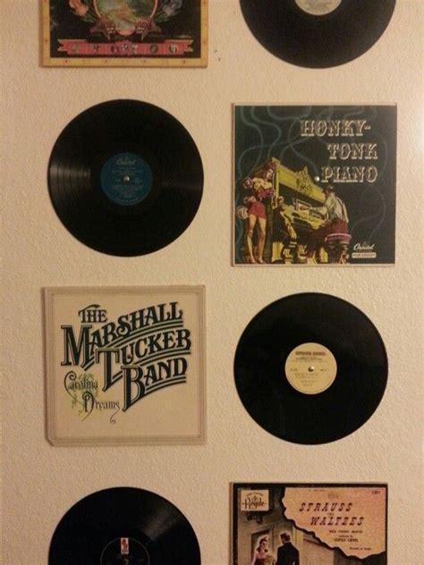 Great Idea For Cheap Wall Album Covers In 25 Best Ideas About Record Decor On Record