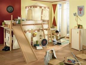 fun bedroom decorating ideas funny play beds for cool kids room design by paidi digsdigs